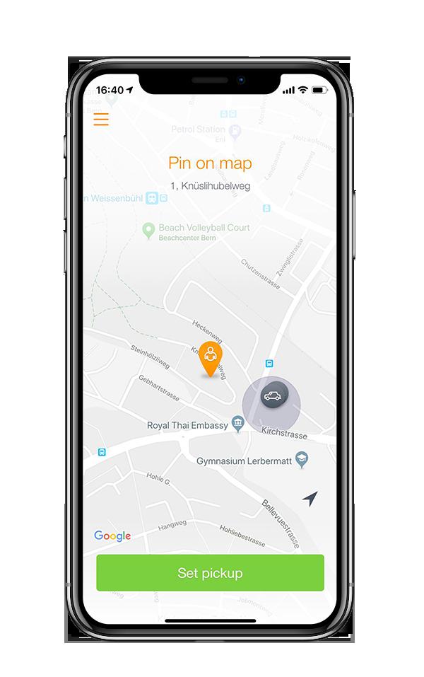 Taxi Bern App